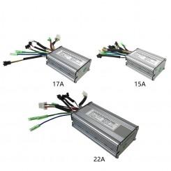 Контроллер SMD 36/48V 17A под LCD дисплей с подключением фары