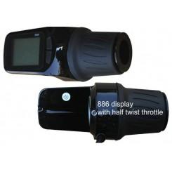 Дисплей LCD-S886 для электровелосипеда